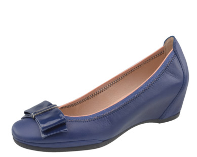 Hispanitas lodičky na klínu modré Vainilla Jeans