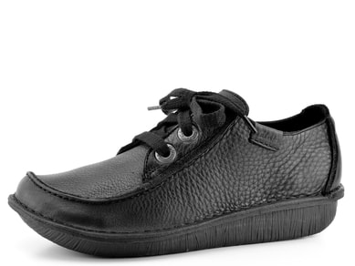 Clarks polobotky Black Funny Dream